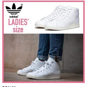 Mid-top Stan Smith white Adidas Women size 6US
